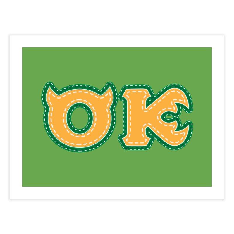 oozma Kappa Home Fine Art Print by darkchoocoolat's Artist Shop