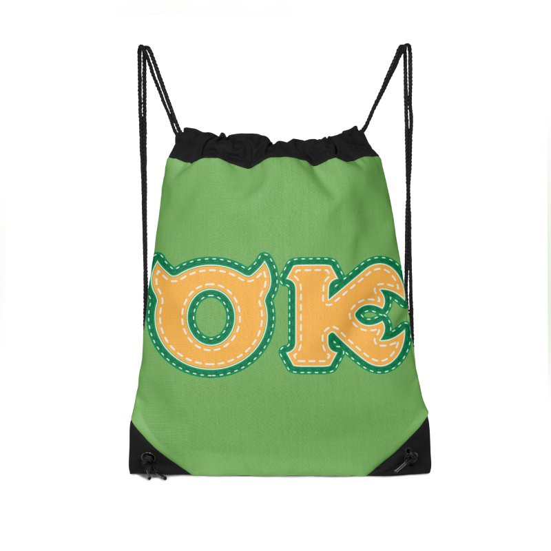 oozma Kappa Accessories Drawstring Bag Bag by darkchoocoolat's Artist Shop