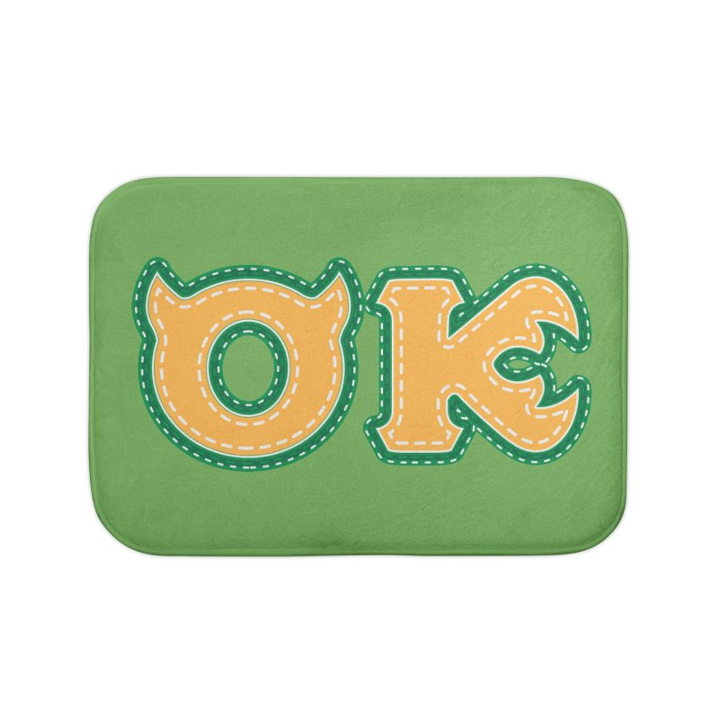 oozma Kappa Home Bath Mat by darkchoocoolat's Artist Shop
