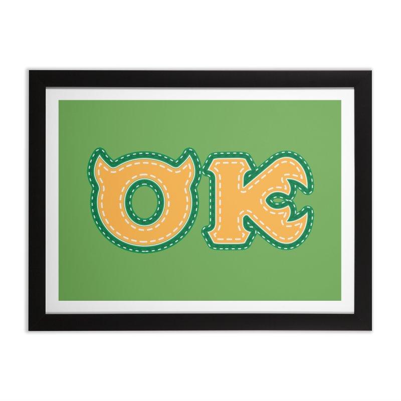 oozma Kappa Home Framed Fine Art Print by darkchoocoolat's Artist Shop