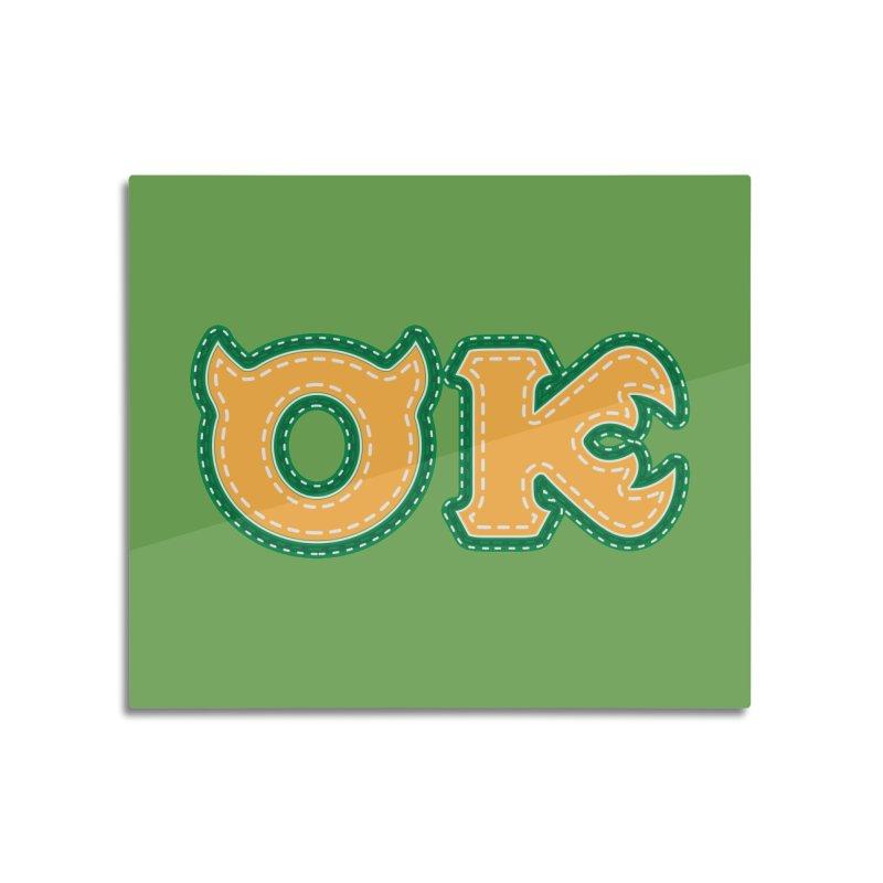 oozma Kappa Home Mounted Acrylic Print by darkchoocoolat's Artist Shop