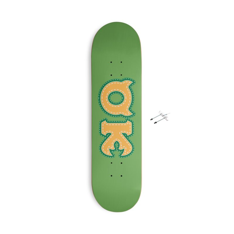 oozma Kappa Accessories With Hanging Hardware Skateboard by darkchoocoolat's Artist Shop