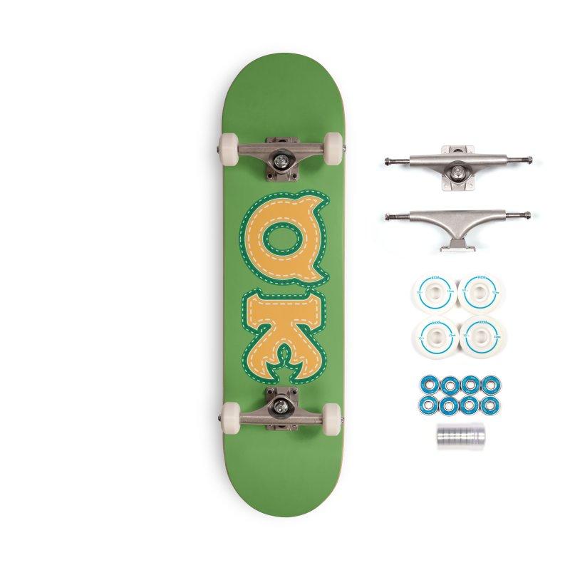 oozma Kappa Accessories Complete - Basic Skateboard by darkchoocoolat's Artist Shop