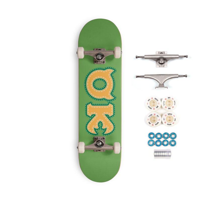 oozma Kappa Accessories Complete - Premium Skateboard by darkchoocoolat's Artist Shop