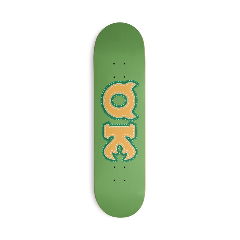 oozma Kappa Accessories Deck Only Skateboard by darkchoocoolat's Artist Shop