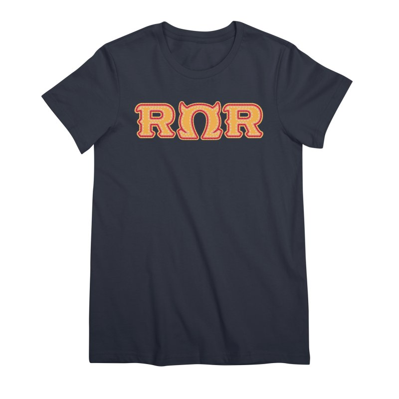 Roar Omega Roar Women's Premium T-Shirt by darkchoocoolat's Artist Shop