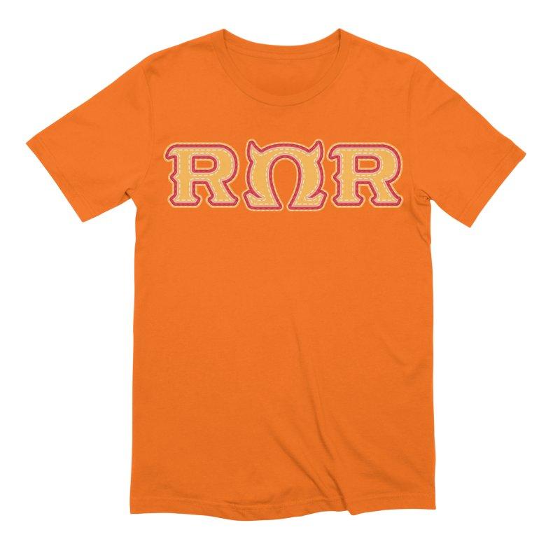 Roar Omega Roar Men's Extra Soft T-Shirt by darkchoocoolat's Artist Shop