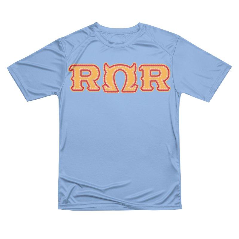 Roar Omega Roar Men's Performance T-Shirt by darkchoocoolat's Artist Shop