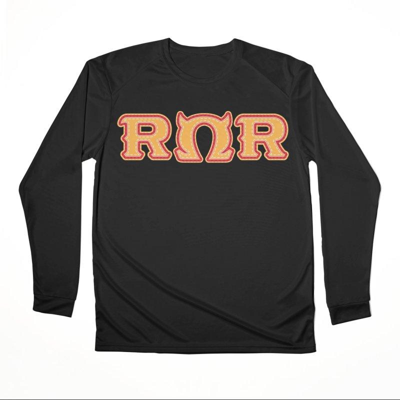 Roar Omega Roar Men's Performance Longsleeve T-Shirt by darkchoocoolat's Artist Shop