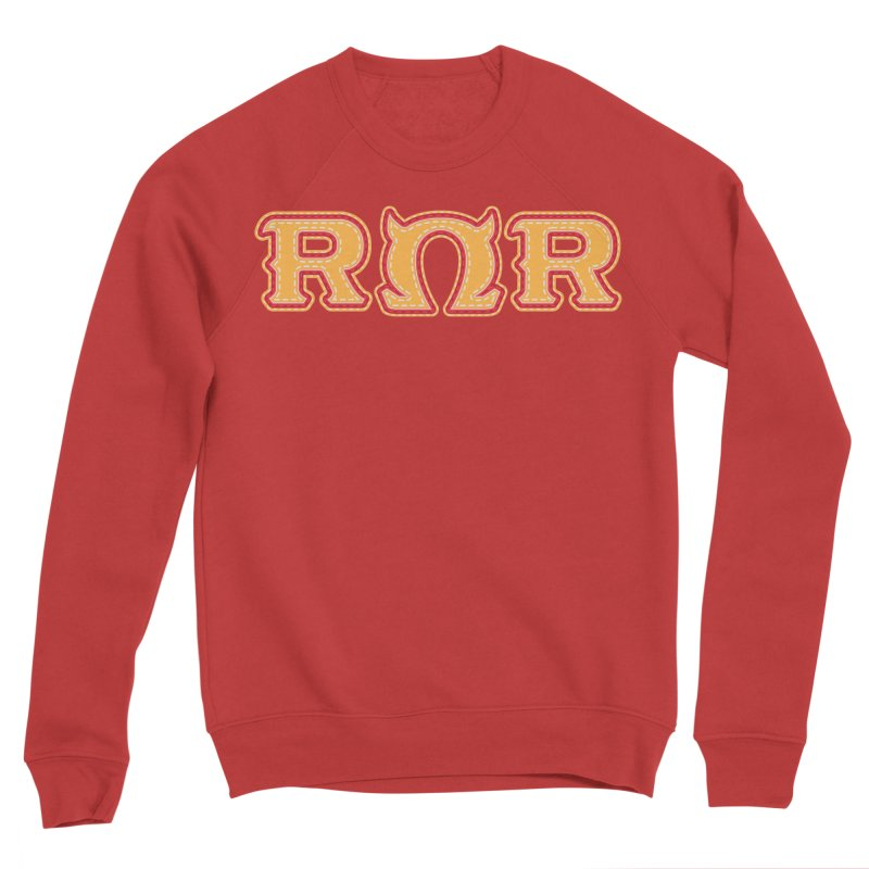 Roar Omega Roar Women's Sponge Fleece Sweatshirt by darkchoocoolat's Artist Shop