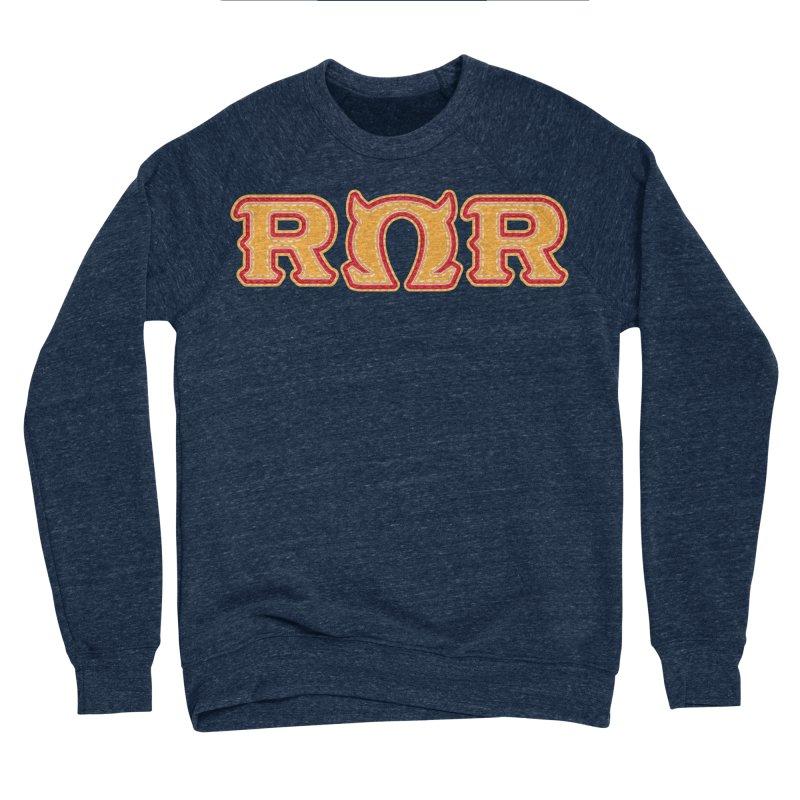 Roar Omega Roar Men's Sponge Fleece Sweatshirt by darkchoocoolat's Artist Shop