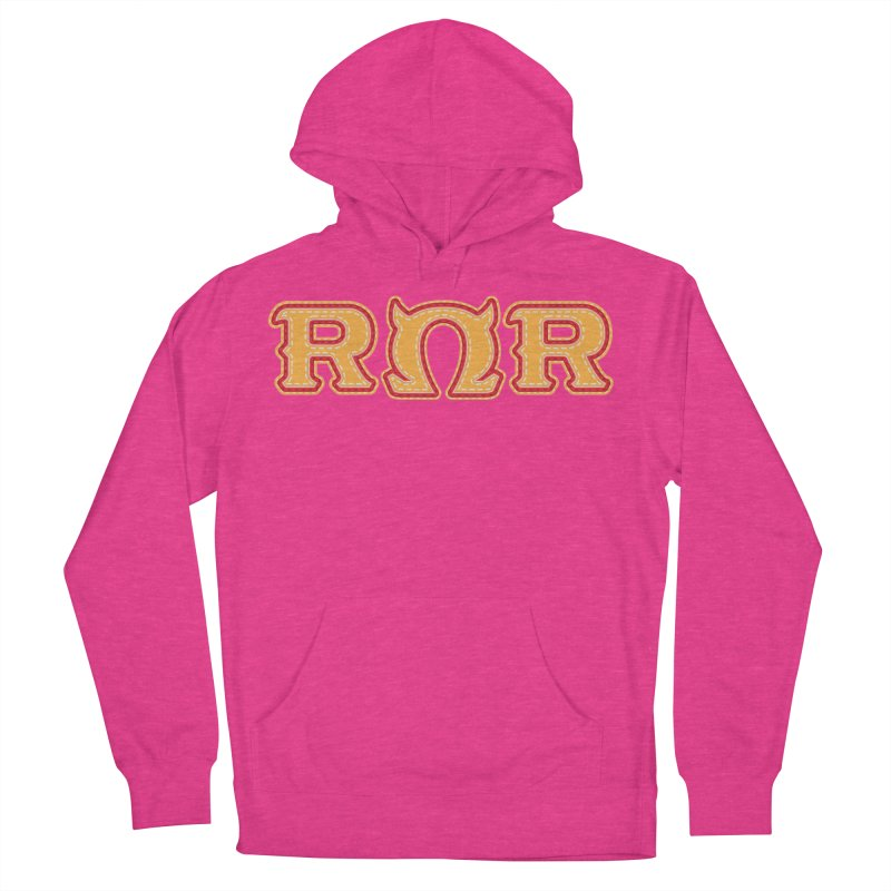 Roar Omega Roar Men's French Terry Pullover Hoody by darkchoocoolat's Artist Shop