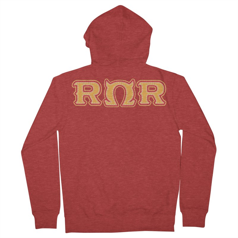 Roar Omega Roar Women's French Terry Zip-Up Hoody by darkchoocoolat's Artist Shop
