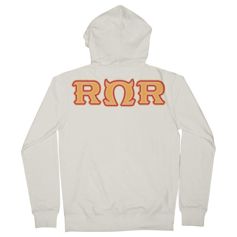 Roar Omega Roar Women's French Terry Zip-Up Hoody by darkchoocoolat's Artist Shop