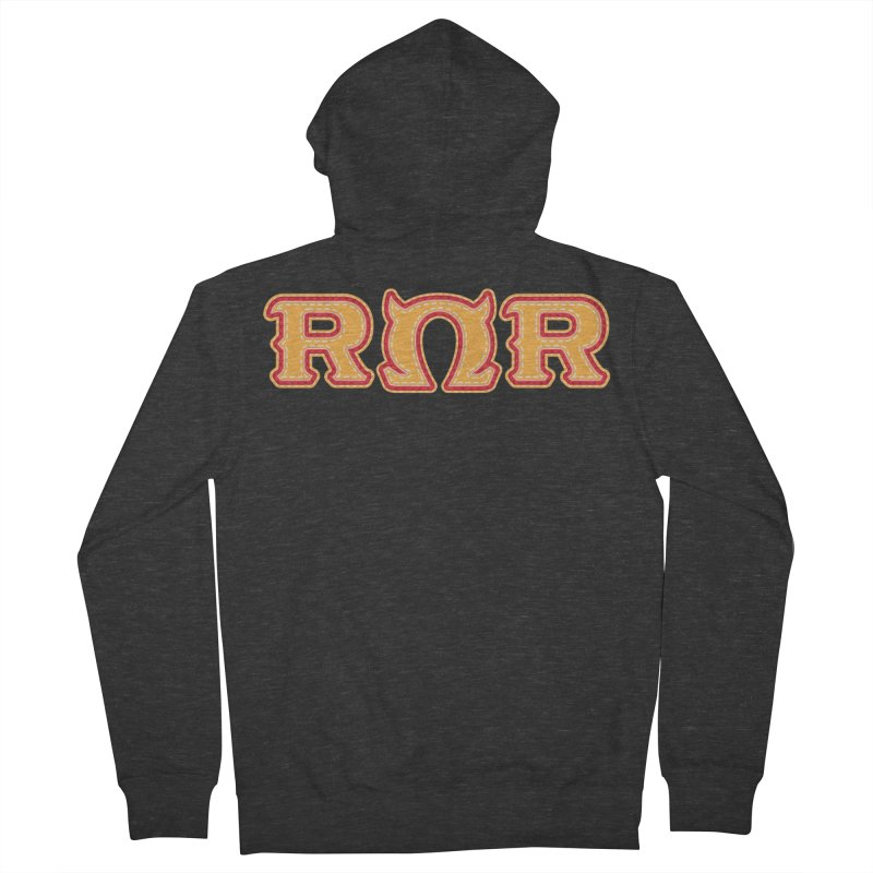 Roar Omega Roar Men's French Terry Zip-Up Hoody by darkchoocoolat's Artist Shop