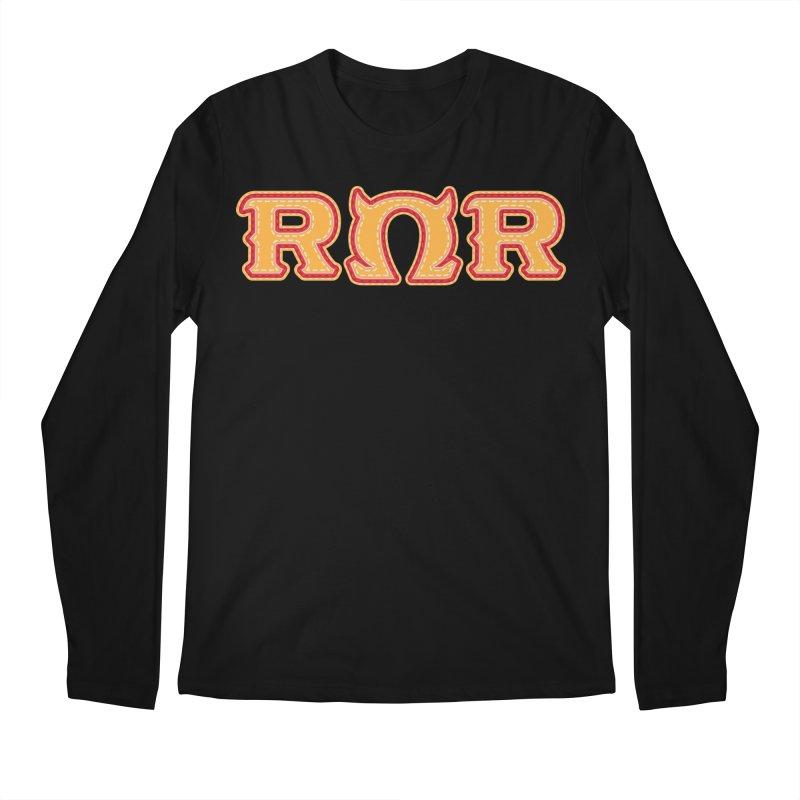 Roar Omega Roar Men's Regular Longsleeve T-Shirt by darkchoocoolat's Artist Shop