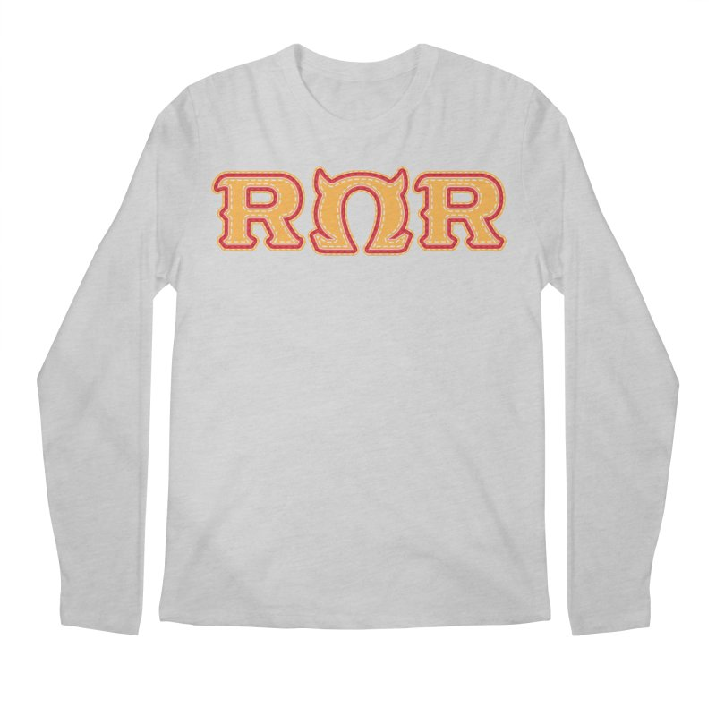 Roar Omega Roar Men's Regular Longsleeve T-Shirt by darkchoocoolat's Artist Shop