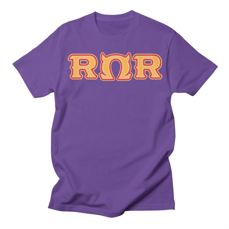 Roar Omega Roar Men's Regular T-Shirt by darkchoocoolat's Artist Shop