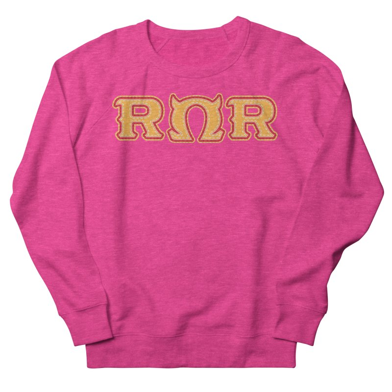 Roar Omega Roar Women's French Terry Sweatshirt by darkchoocoolat's Artist Shop