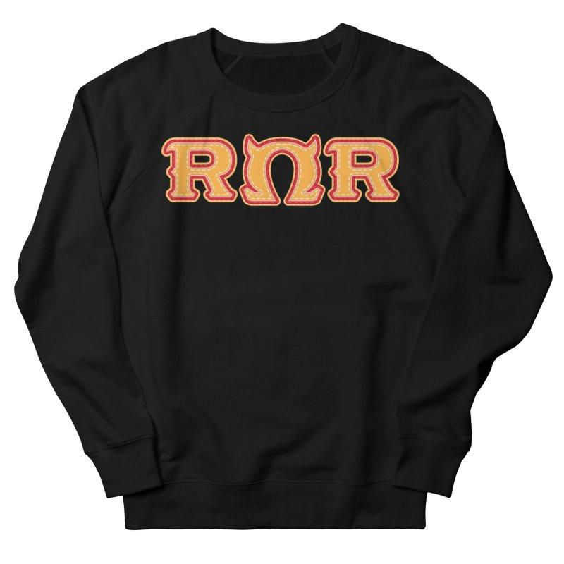 Roar Omega Roar Men's French Terry Sweatshirt by darkchoocoolat's Artist Shop