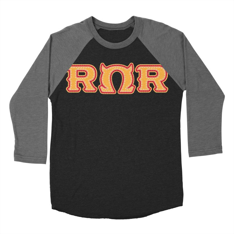 Roar Omega Roar Men's Baseball Triblend Longsleeve T-Shirt by darkchoocoolat's Artist Shop
