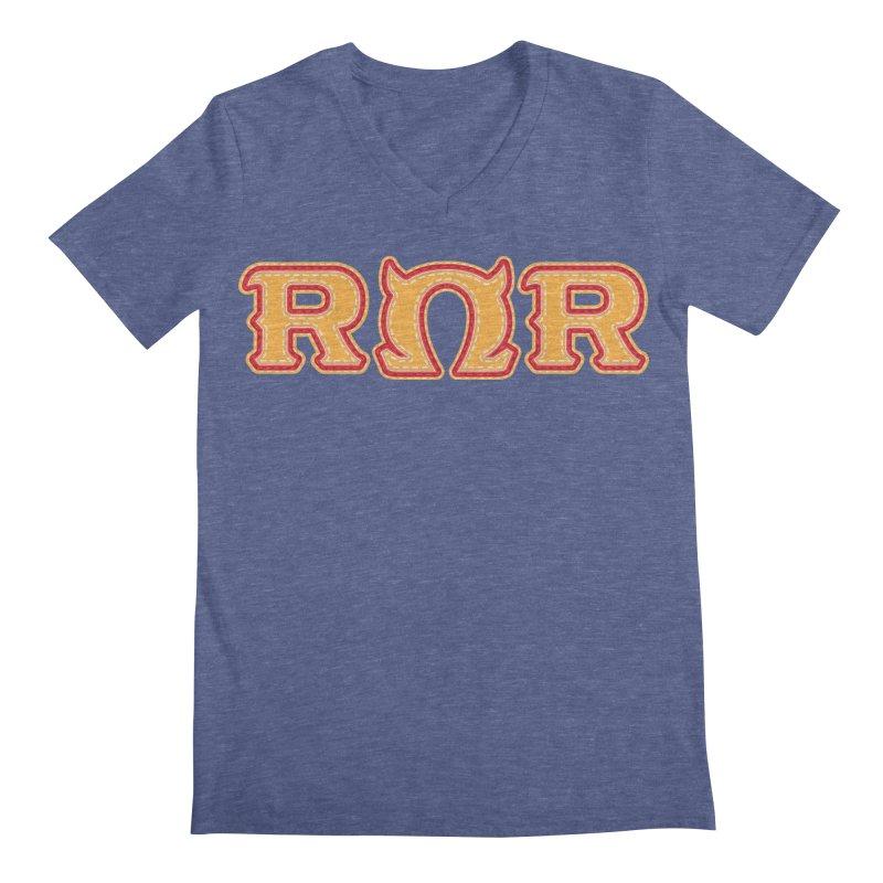 Roar Omega Roar Men's Regular V-Neck by darkchoocoolat's Artist Shop