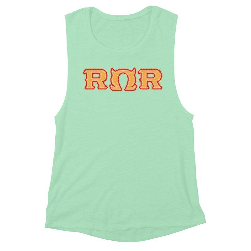Roar Omega Roar Women's Muscle Tank by darkchoocoolat's Artist Shop