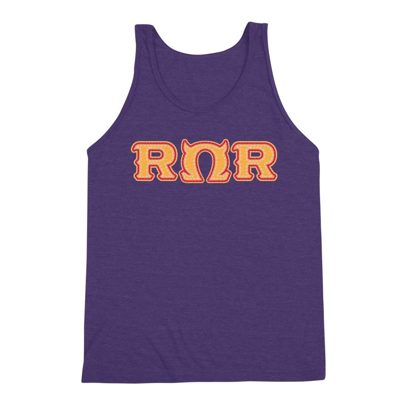 Roar Omega Roar Men's Triblend Tank by darkchoocoolat's Artist Shop