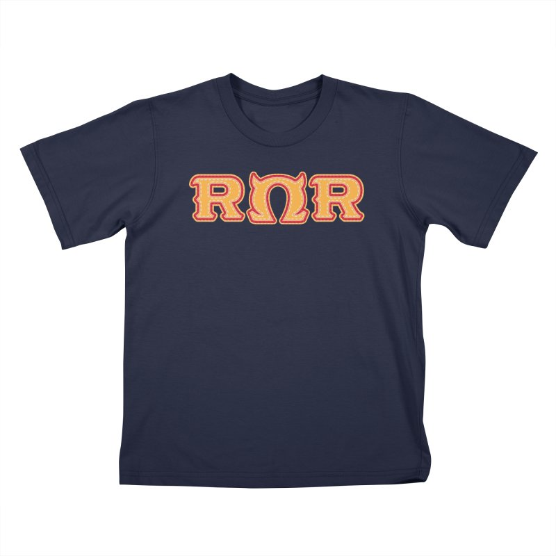 Roar Omega Roar Kids T-Shirt by darkchoocoolat's Artist Shop