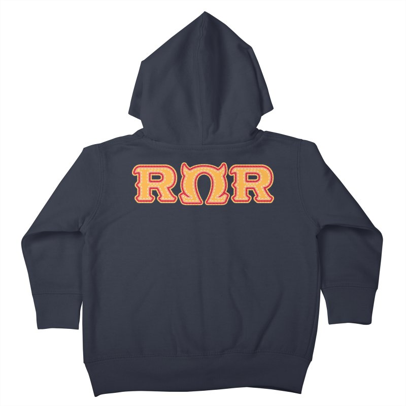 Roar Omega Roar Kids Toddler Zip-Up Hoody by darkchoocoolat's Artist Shop