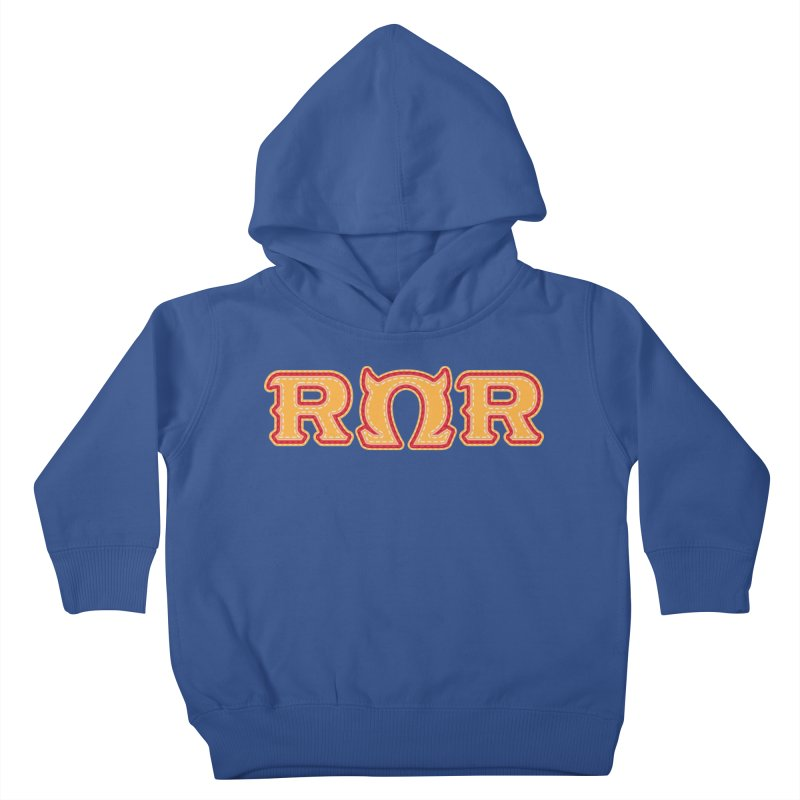 Roar Omega Roar Kids Toddler Pullover Hoody by darkchoocoolat's Artist Shop