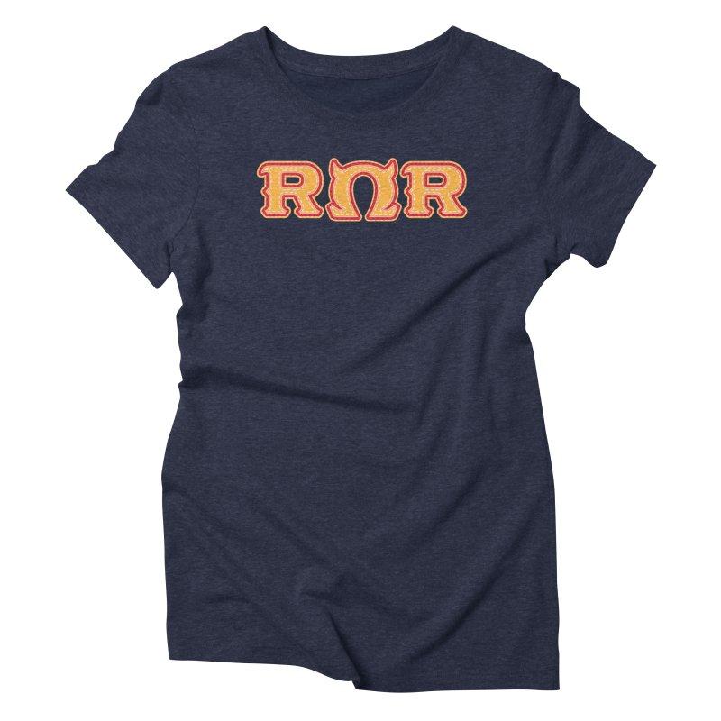 Roar Omega Roar Women's Triblend T-Shirt by darkchoocoolat's Artist Shop