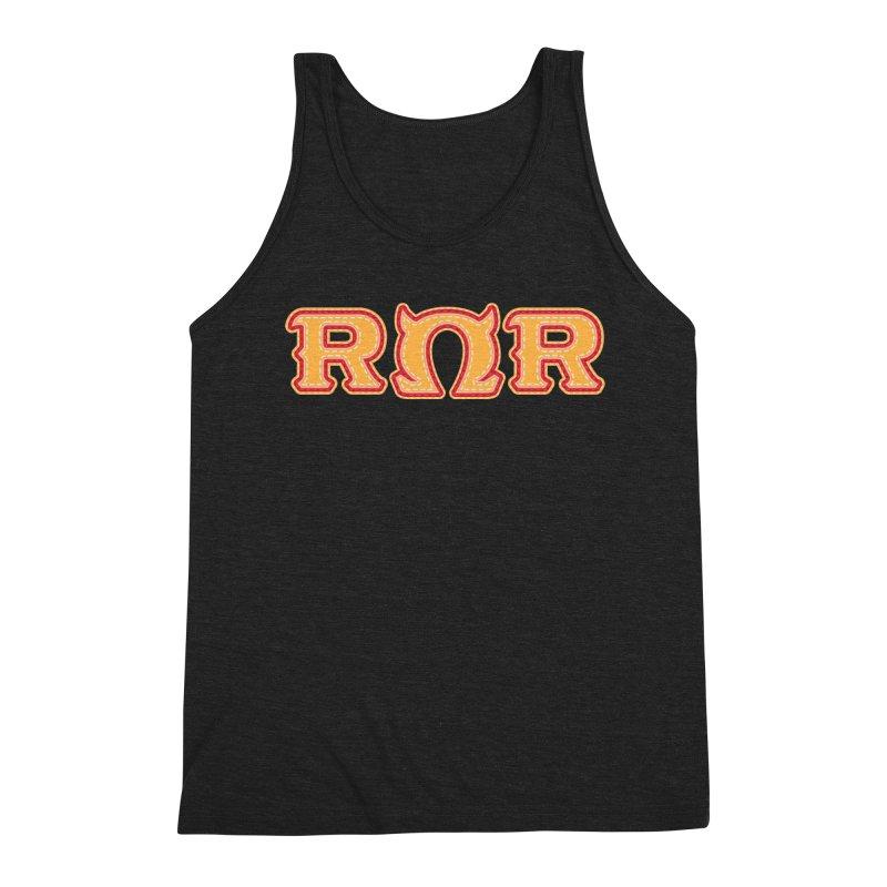 Roar Omega Roar Men's Triblend Tank by darkchoocoolat's Artist Shop