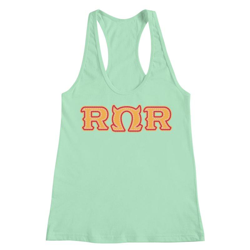 Roar Omega Roar Women's Racerback Tank by darkchoocoolat's Artist Shop