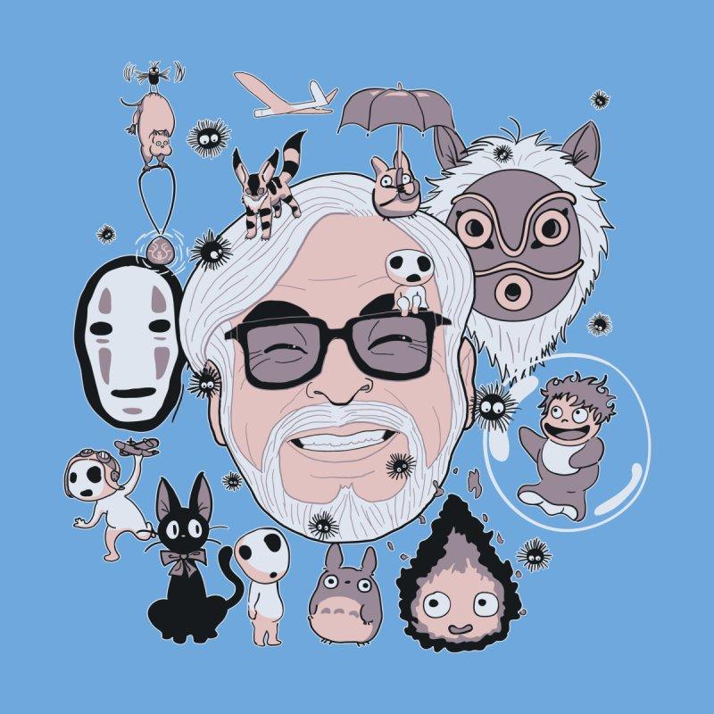 Miyazaki Tribute Men's Zip-Up Hoody by darkchoocoolat's Artist Shop