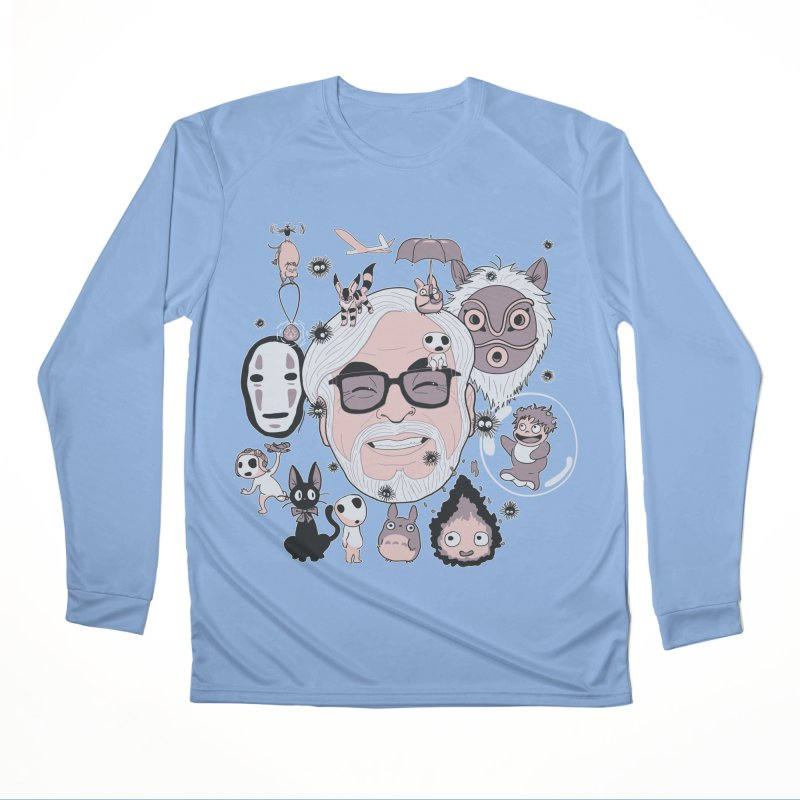 Miyazaki Tribute Men's Longsleeve T-Shirt by darkchoocoolat's Artist Shop