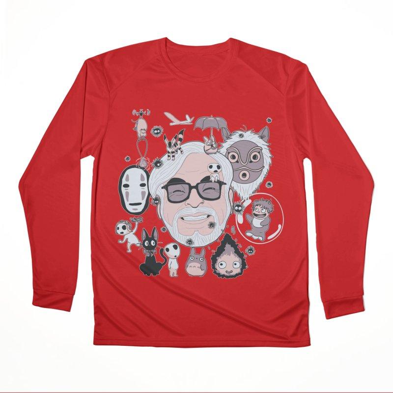 Miyazaki Tribute Men's Performance Longsleeve T-Shirt by darkchoocoolat's Artist Shop