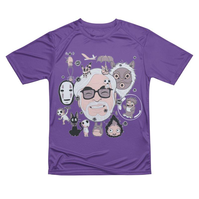 Miyazaki Tribute Women's Performance Unisex T-Shirt by darkchoocoolat's Artist Shop