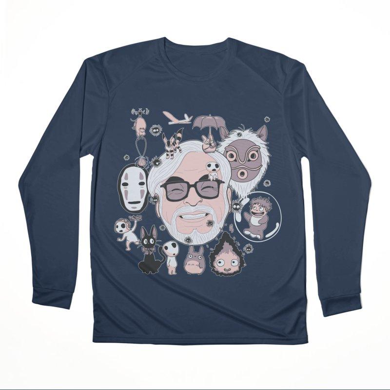 Miyazaki Tribute Women's Performance Unisex Longsleeve T-Shirt by darkchoocoolat's Artist Shop