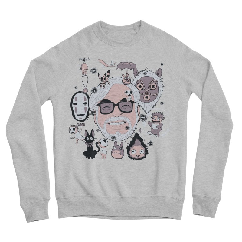 Miyazaki Tribute Women's Sponge Fleece Sweatshirt by darkchoocoolat's Artist Shop
