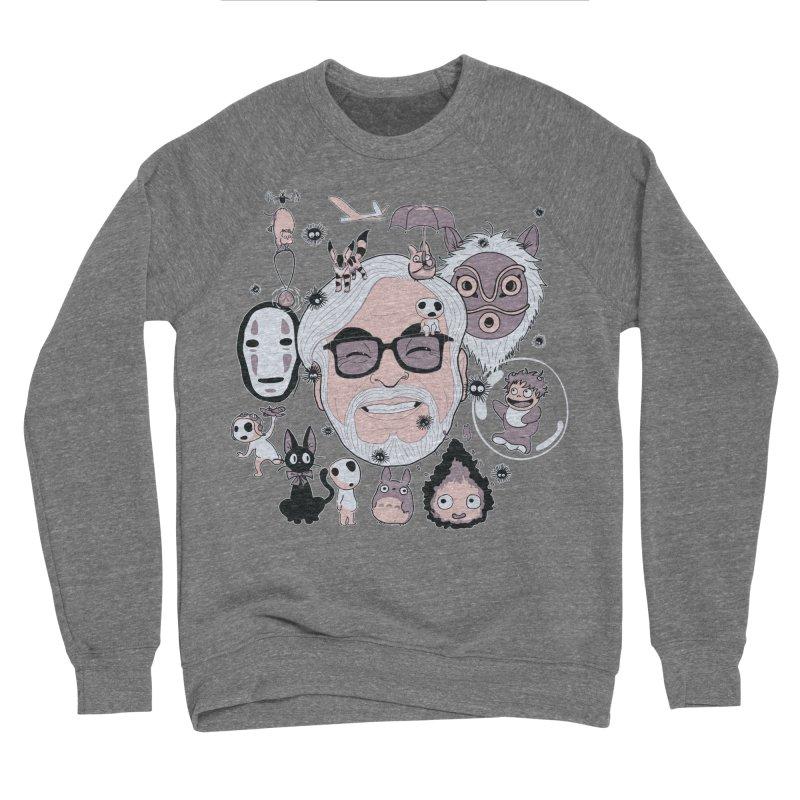 Miyazaki Tribute Women's Sponge Fleece Sweatshirt by darkchoocoolat's Artist Shop