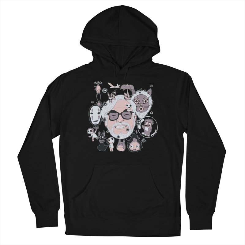 Miyazaki Tribute Women's French Terry Pullover Hoody by darkchoocoolat's Artist Shop
