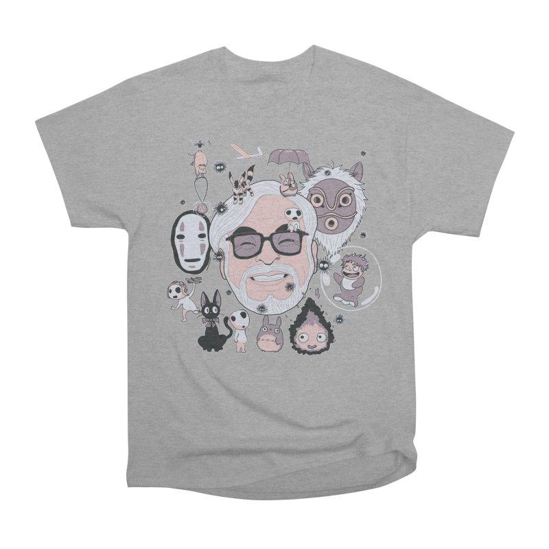 Miyazaki Tribute Men's Heavyweight T-Shirt by darkchoocoolat's Artist Shop