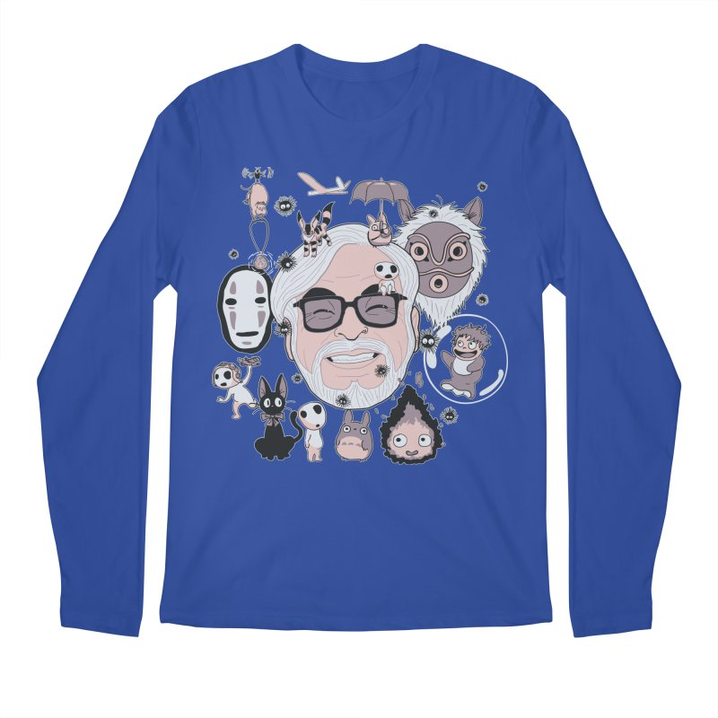 Miyazaki Tribute Men's Regular Longsleeve T-Shirt by darkchoocoolat's Artist Shop