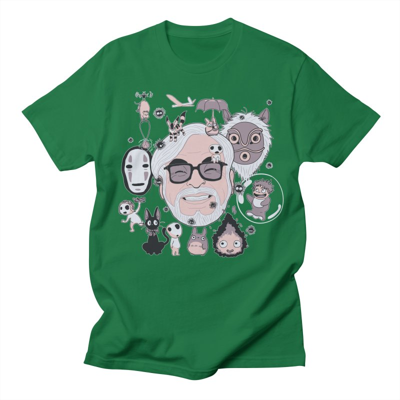 Miyazaki Tribute Men's Regular T-Shirt by darkchoocoolat's Artist Shop