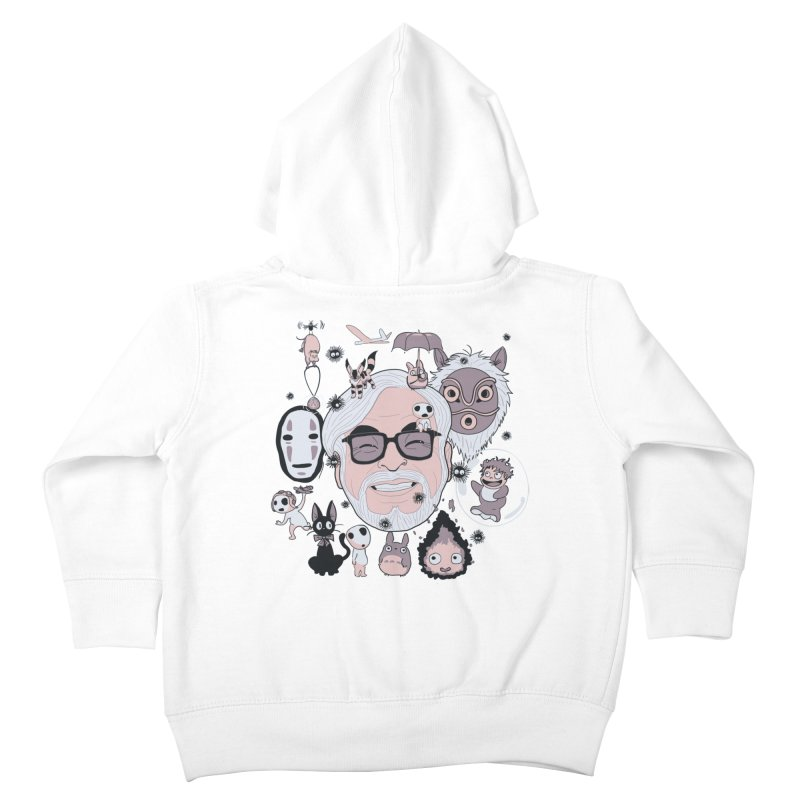 Miyazaki Tribute Kids Toddler Zip-Up Hoody by darkchoocoolat's Artist Shop