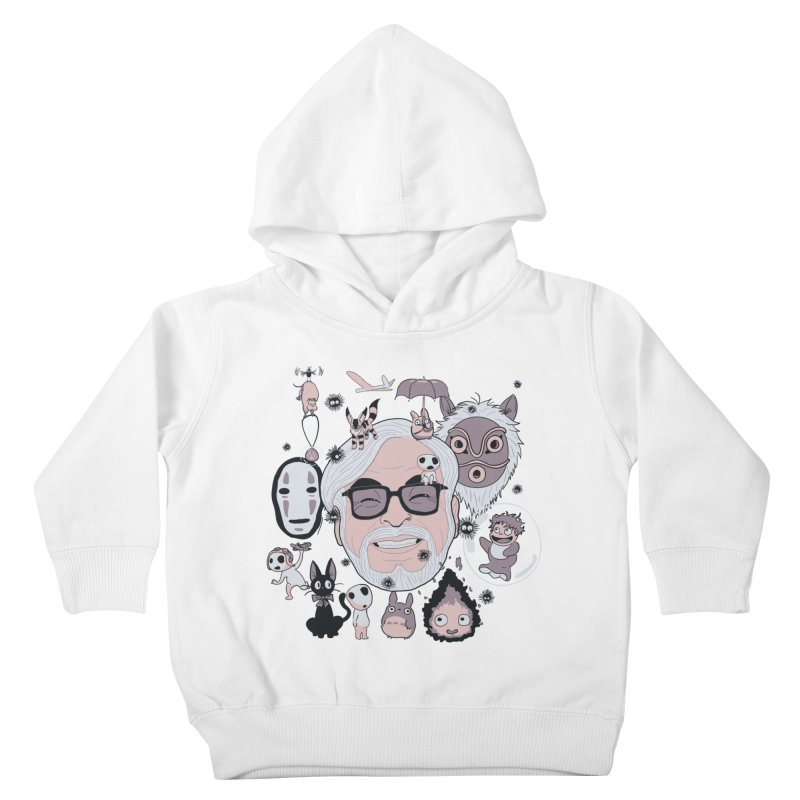 Miyazaki Tribute Kids Toddler Pullover Hoody by darkchoocoolat's Artist Shop