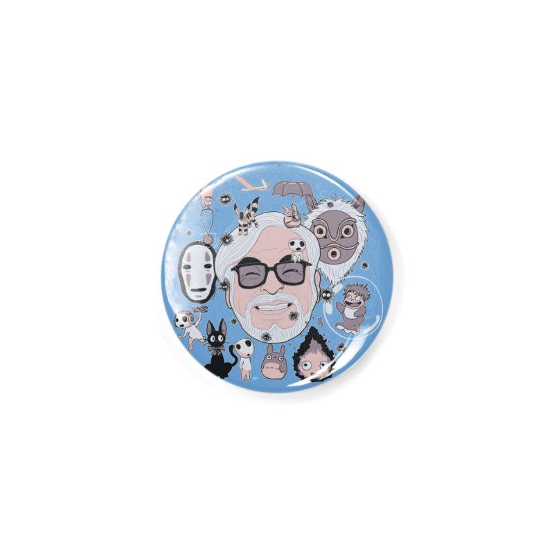 Miyazaki Tribute Accessories Button by darkchoocoolat's Artist Shop