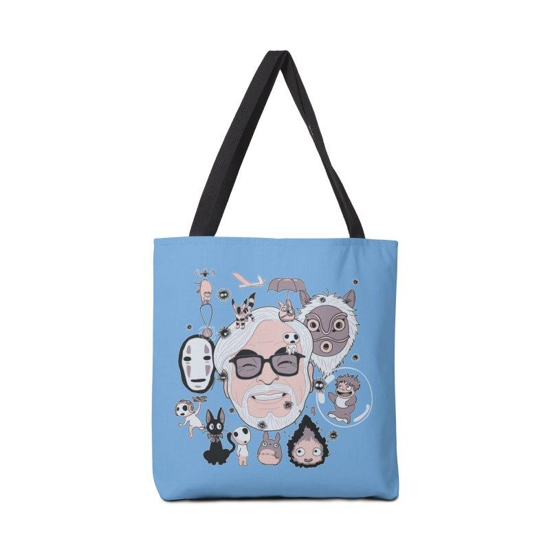 Miyazaki Tribute Accessories Tote Bag Bag by darkchoocoolat's Artist Shop