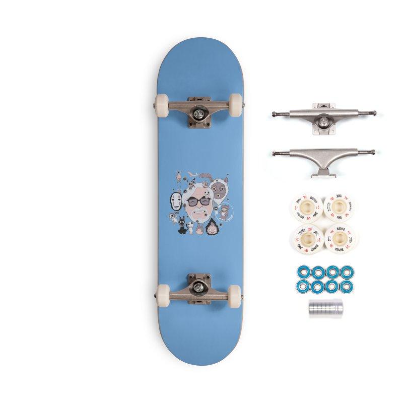 Miyazaki Tribute Accessories Complete - Premium Skateboard by darkchoocoolat's Artist Shop